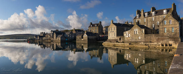 Lerwick Waterfront Panorama