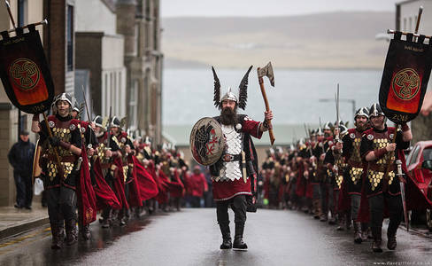 Up Helly Aa 2016 Morning March