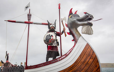 Up Helly Aa Galley 2016