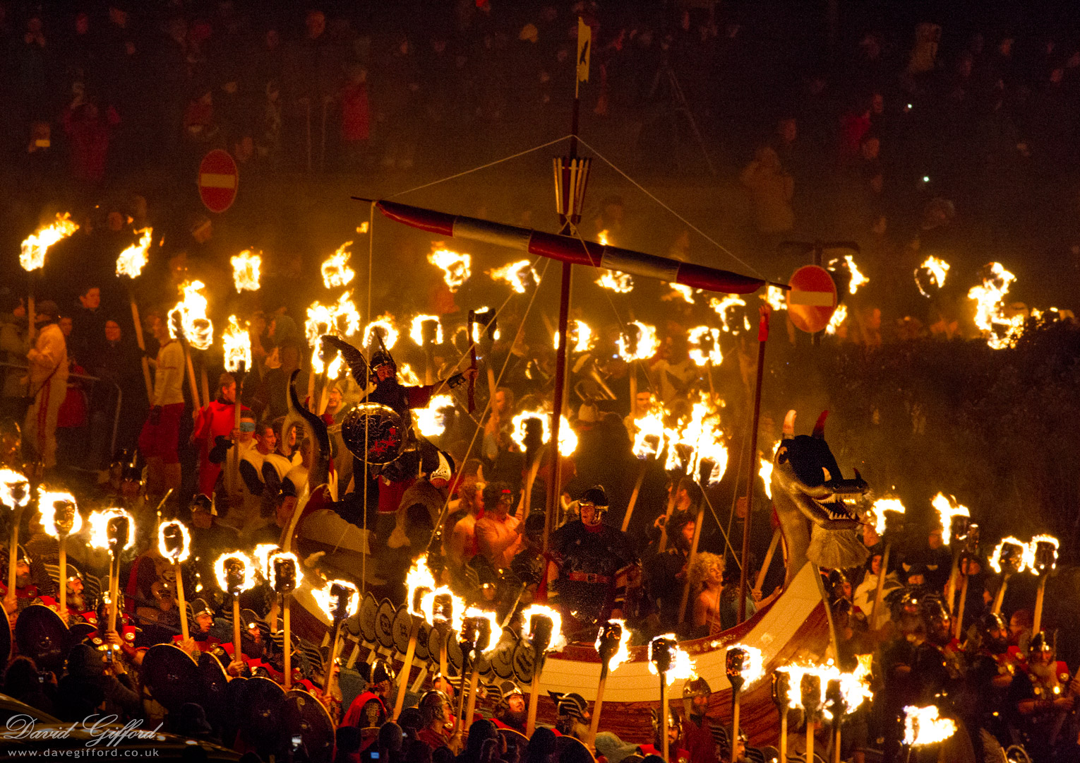 Up Helly Aa Procession 2016