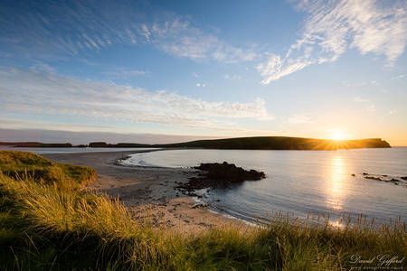 Sunset at St Ninian's Isle
