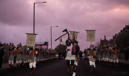 Dawn of Up Helly Aa 2017