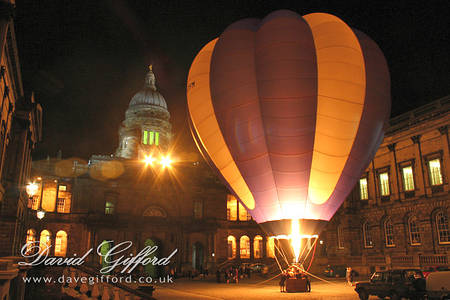 Balloon Night Glow at Old College