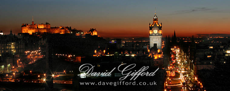Edinburgh at Dusk