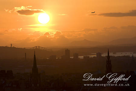 Forth Skyline Sunset
