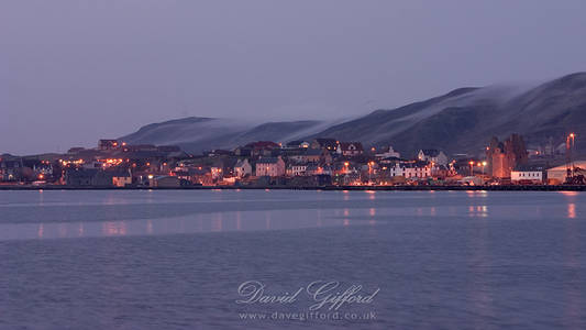 Scalloway at Dusk