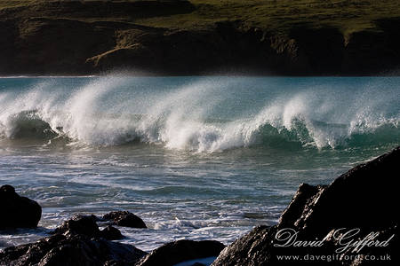 Waves at St Ninians Isle