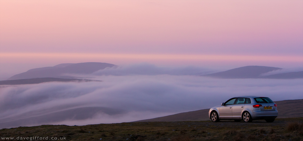 Parked Above the Mist