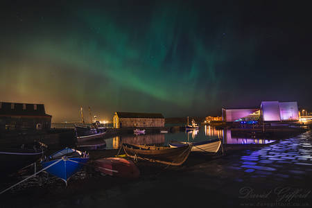Aurora over Hay's Dock