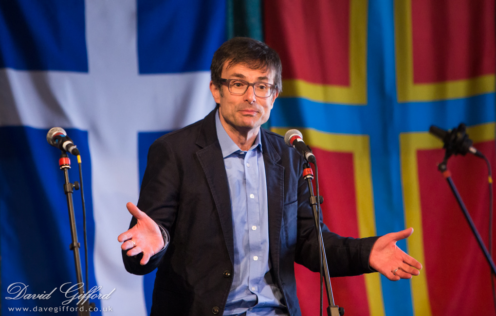 Robert Peston - Shetland Folk Festival 2014