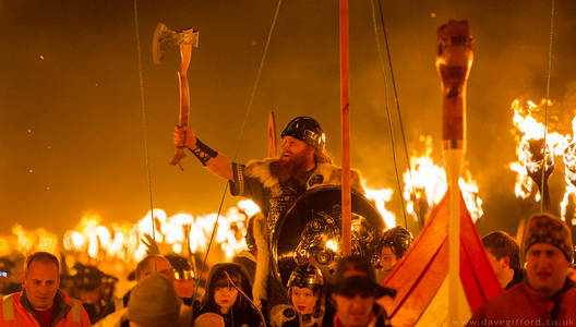 Delting Up Helly Aa Guizer Jarl 2015