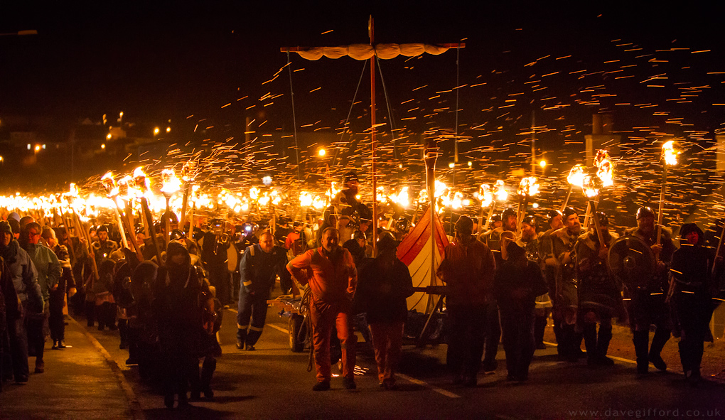 Delting Up Helly Aa Procession