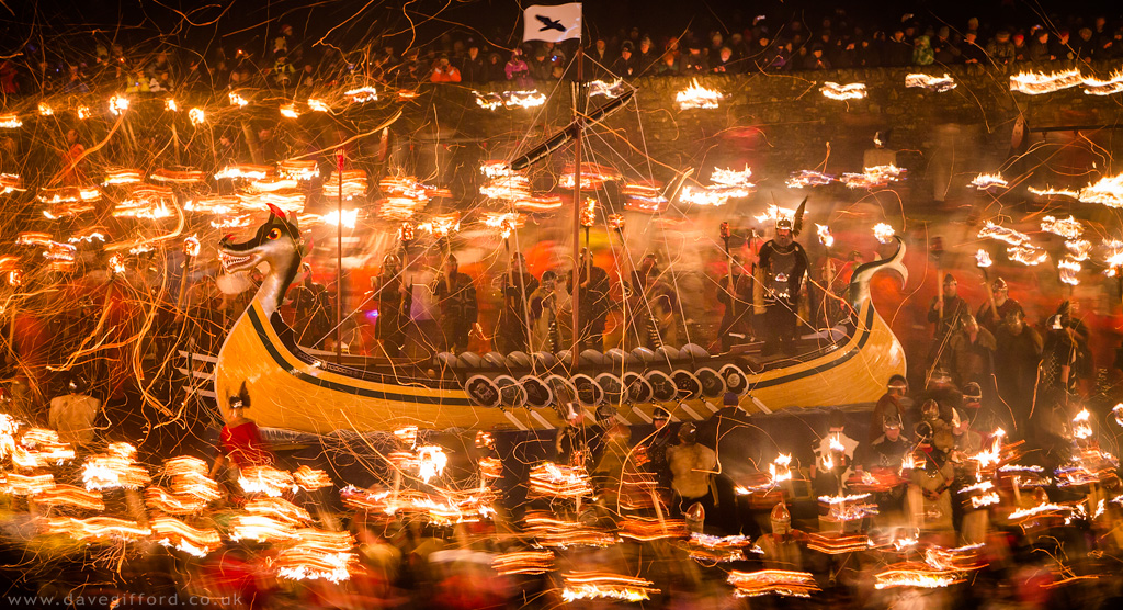 Up Helly Aa Galley 2015