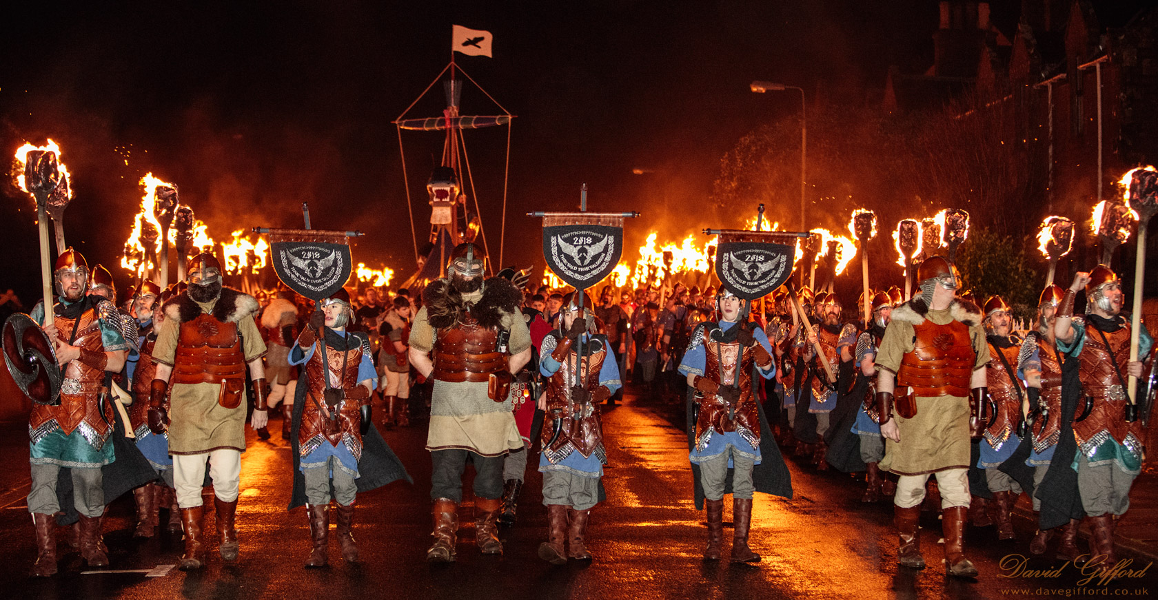 Up Helly Aa 2018 Procession