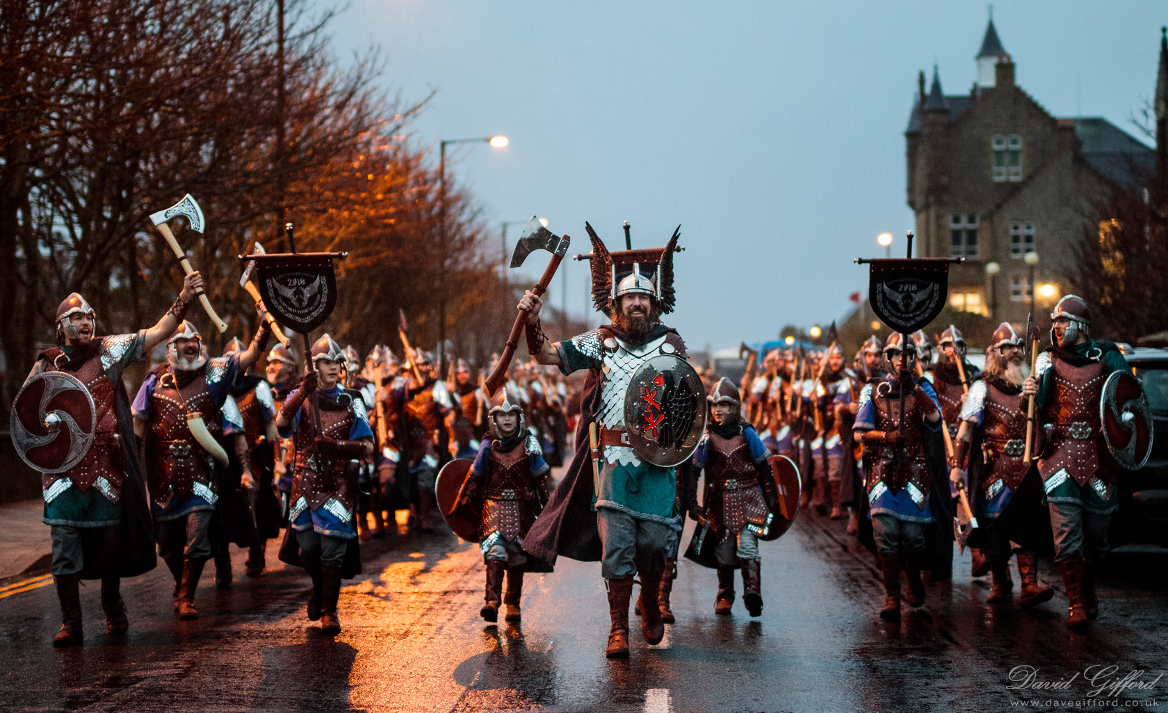 Up Helly Aa 2018 Underway
