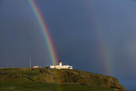Sunshine and Showers at Sumburgh