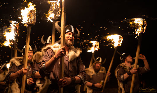 Nesting and Girlsta Up Helly Aa 2020: Storm Proof