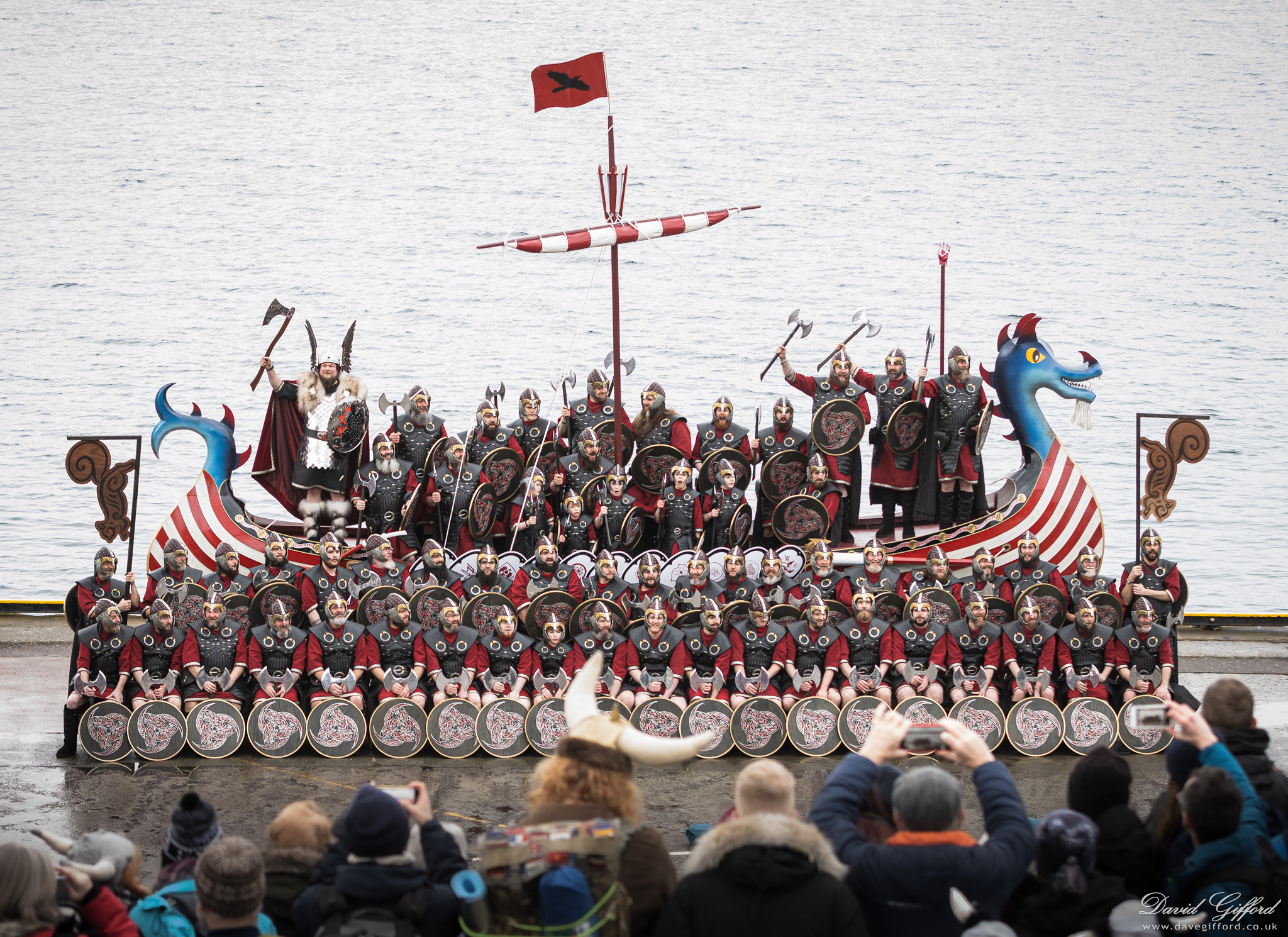 Up Helly Aa 2020: Jarl Squad and Galley