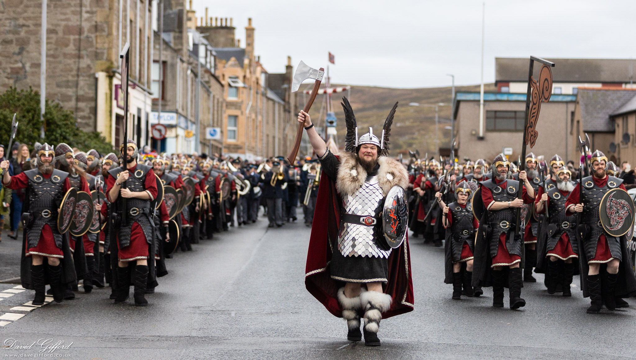 Up Helly Aa 2020: Morning March