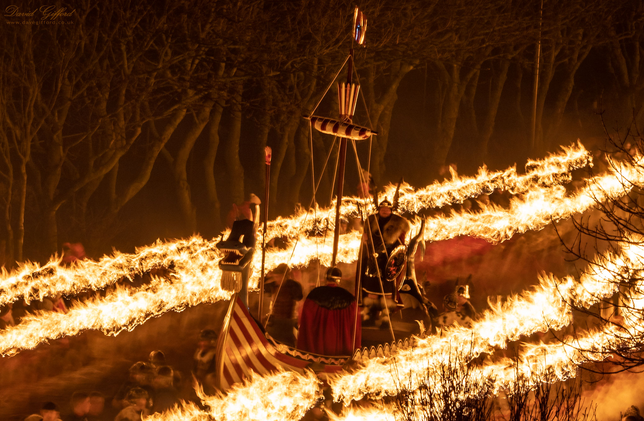 Up Helly Aa 2020: Passing Lerwick's 'Dark Forest'