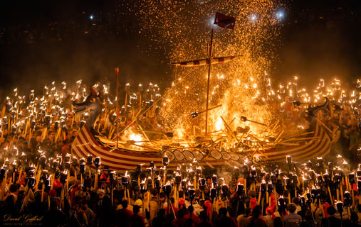 Up Helly Aa 2020: Throwing in the Torches